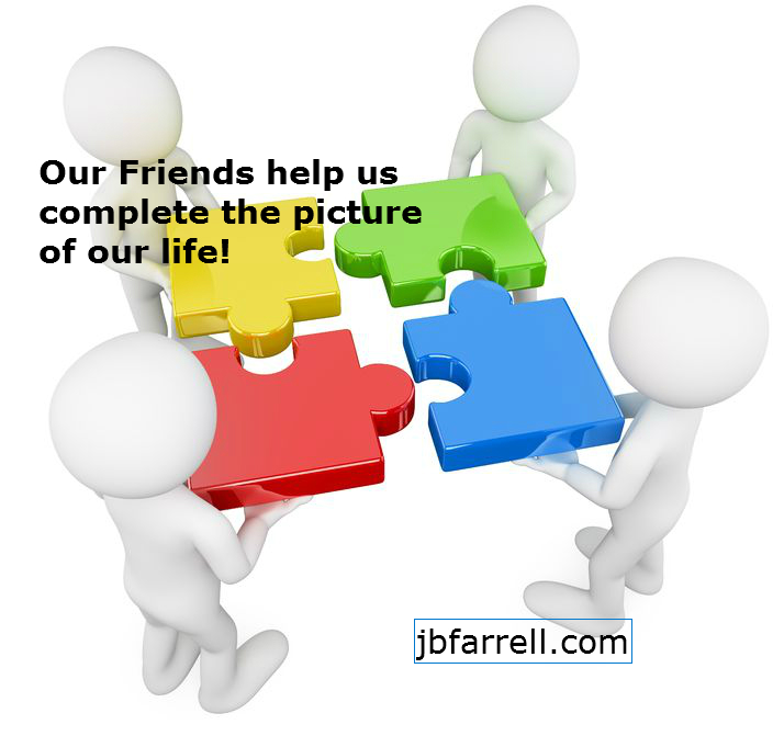 Friends complete our life picture